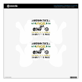 Motorcycle Angel PS3 Controller Decal