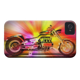 Motorcycle Art1 iPhone 4 Case-Mate Case