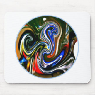 Motorcycle Art Mouse Pad