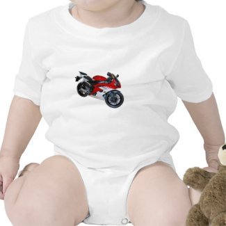 motorcycle baby bodysuits
