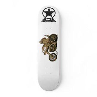 Motorcycle Bandit Skateboard skateboard