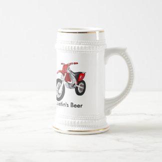 Motorcycle Beer Stein