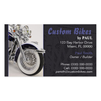 Motorcycle - Bike Builder Business Card