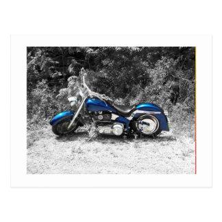 Motorcycle Blues Postcard