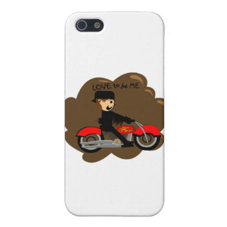 MOTORCYCLE  BOY- LOVE TO BE ME iPhone 5 COVER