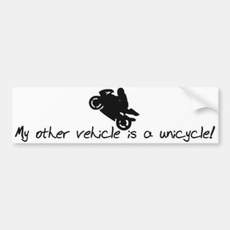 Motorcycle Bumper Sticker