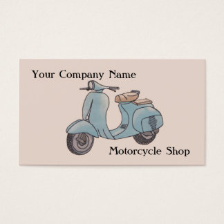 Motorcycle Business Card