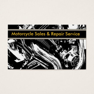 Motorcycle Business Cards