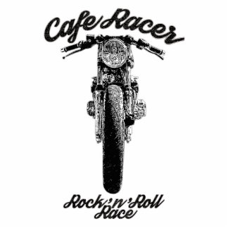 Motorcycle Cafe racer Cutout