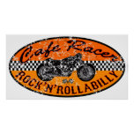Motorcycle Cafe racer Poster