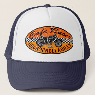 Motorcycle Cafe racer Trucker Hat