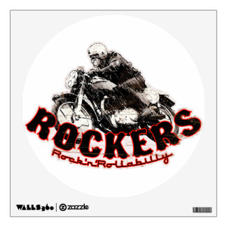 Motorcycle Cafe racer Wall Graphics
