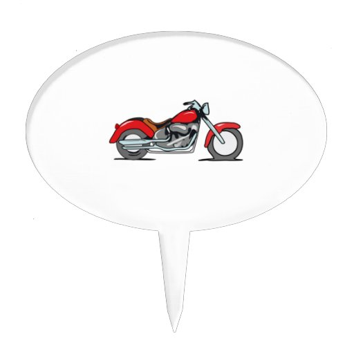 Motorcycle Cake Toppers