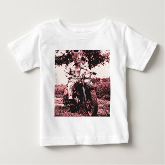 Motorcycle cat baby T-Shirt