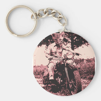 Motorcycle cat keychains