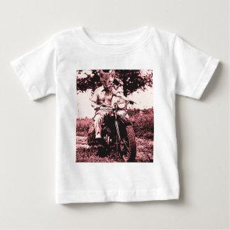 Motorcycle cat tee shirt