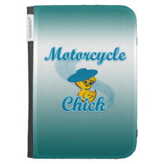 Motorcycle Chick #3 Kindle Cases