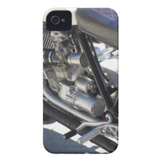 Motorcycle chromed engine closeup detail Side view Case-Mate iPhone 4 Case