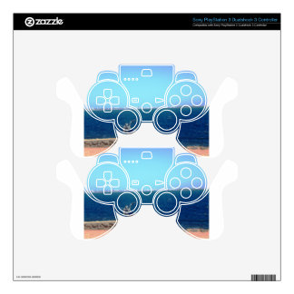 Motorcycle Cliff Decal For PS3 Controller