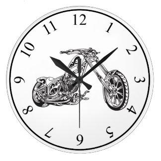 Motorcycle Wall Clocks