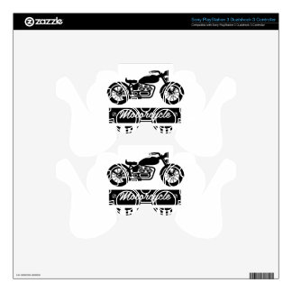 Motorcycle Collections logos Decal For PS3 Controller