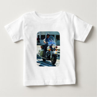 Motorcycle Cop Baby T-Shirt
