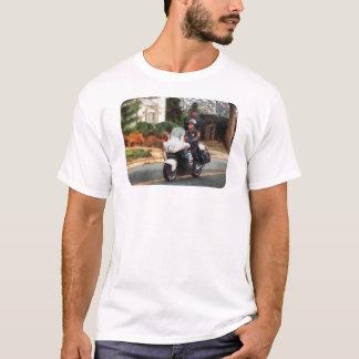 Motorcycle Cop on Patrol T-Shirt