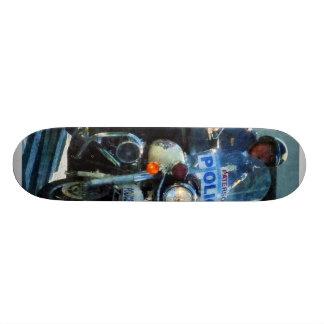Motorcycle Cop Skateboard Decks