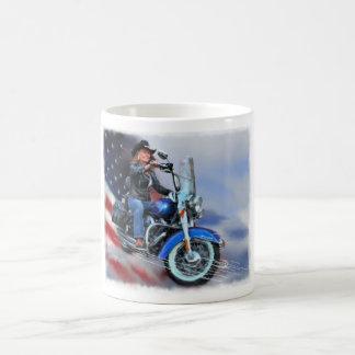 Motorcycle Cowgirl Coffee Mug