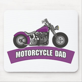 Motorcycle Dad Father's Day Mouse Pads