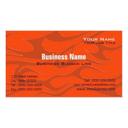 Motorcycle Davidson Business Card