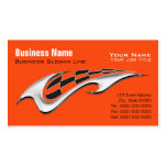 Motorcycle Davidson Business Card - Facebook