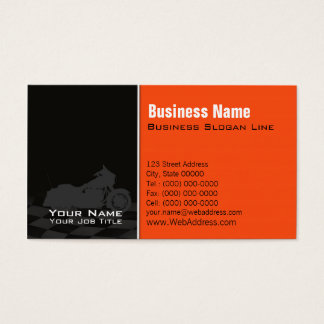 Motorcycle Davidson Business Card - Twitter