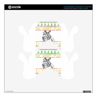 motorcycle design cut decal for PS3 controller