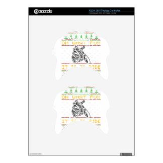 motorcycle design cut xbox 360 controller skin