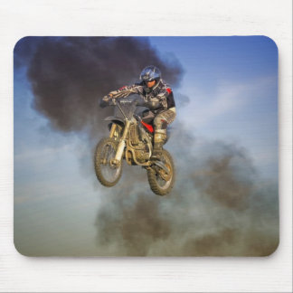Motorcycle Dirt Bike Stunt Mouse Pad