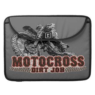 Motorcycle Dirt MacBook Pro Sleeve