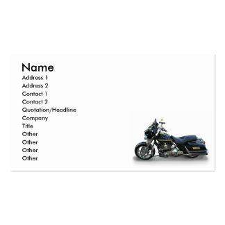 motorcycle Double-Sided standard business cards (Pack of 100)