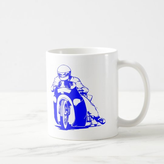 Motorcycle Drag Racing Coffee Mug