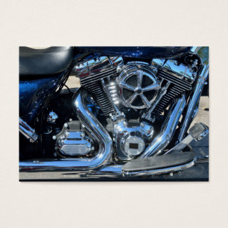 Motorcycle Engine Business Card