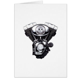 Motorcycle Engine Card