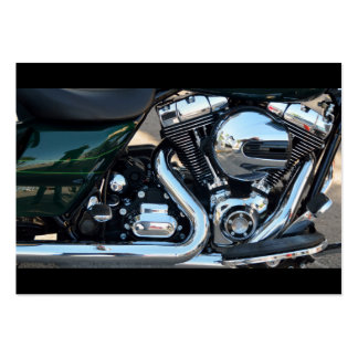 Motorcycle Engine Large Business Cards (Pack Of 100)