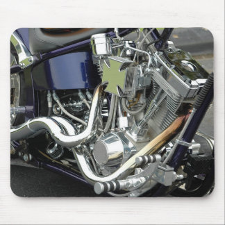 Motorcycle Engine Mouse Pad