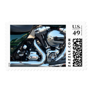 Motorcycle Engine Stamps