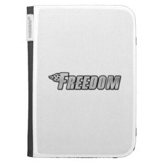 Motorcycle Flames - Freedom Kindle 3G Cases