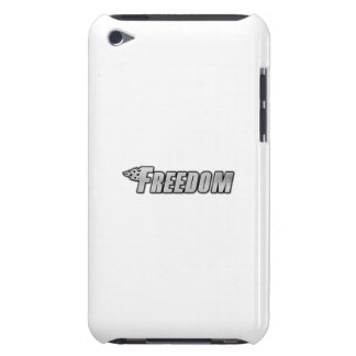 Motorcycle Flames - Freedom Barely There iPod Cases