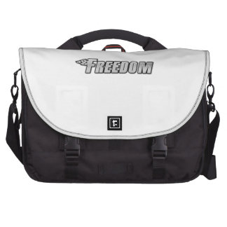 Motorcycle Flames - Freedom Commuter Bag