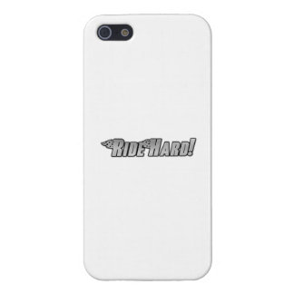 Motorcycle Flames - Ride Hard iPhone 5 Cases