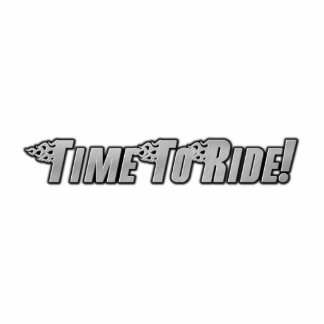 Motorcycle Flames - Time To Ride Photo Sculpture