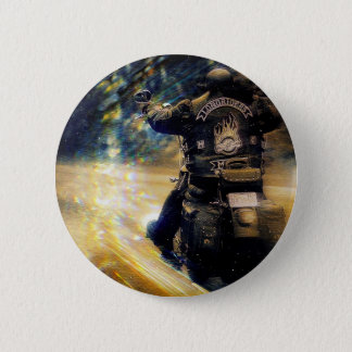 Motorcycle Flyer Harley Davidson Button